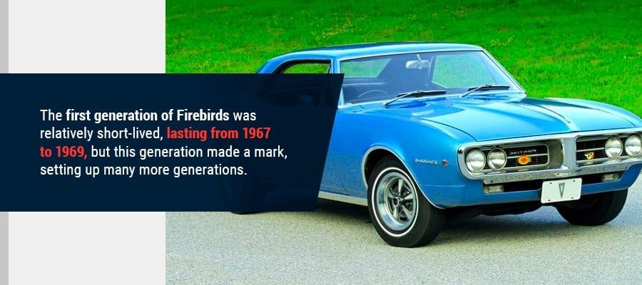 1st Gen Pontiac Firebird