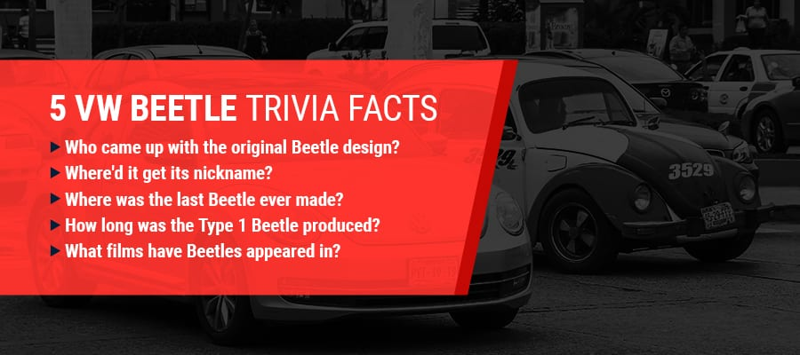 VW Beetle Trivia Facts