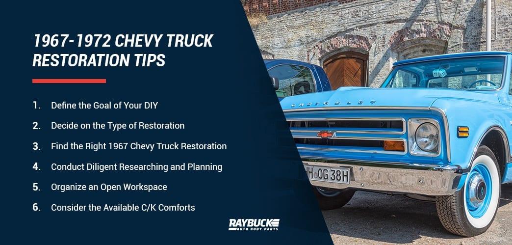 1967 1972 Chevy C K Truck History Restoration Tips