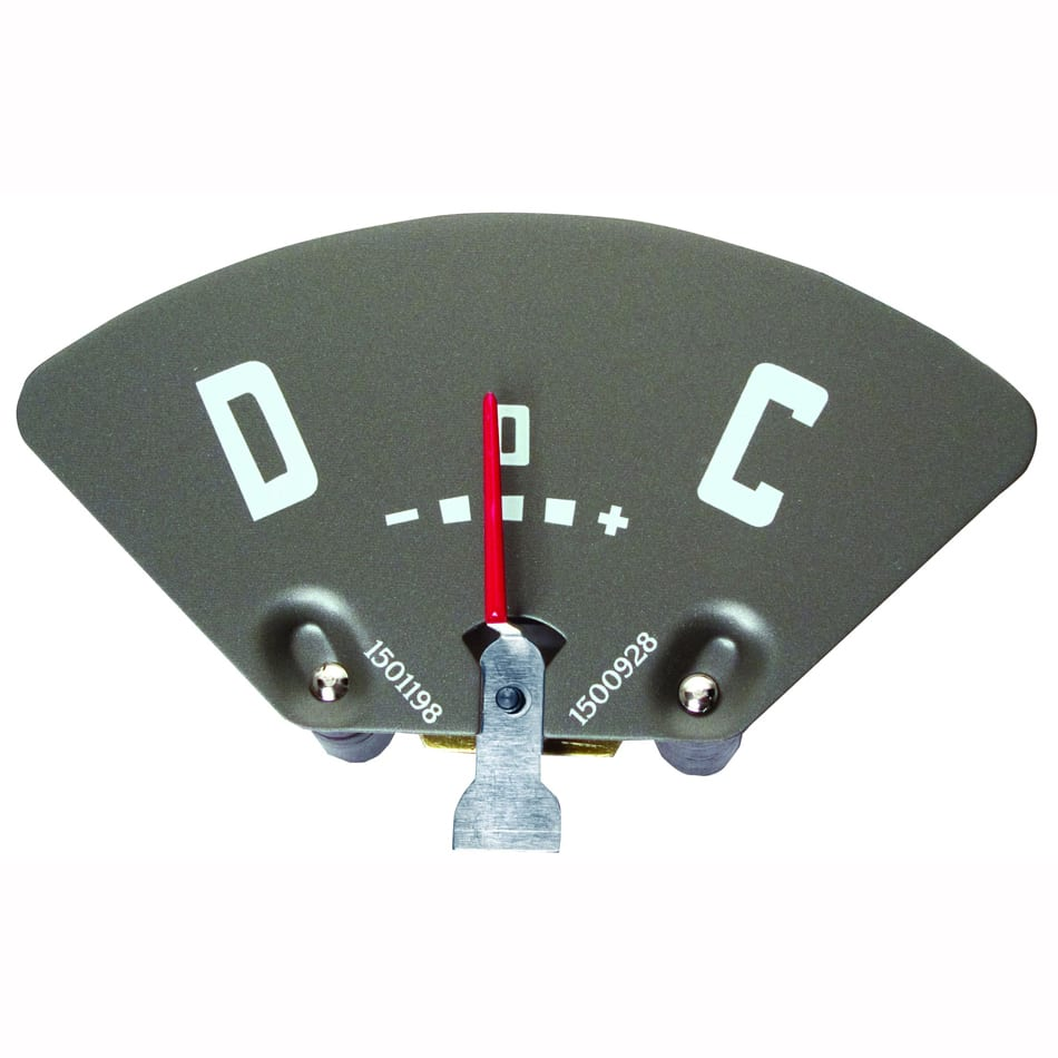 1947-1949 Chevy Pickup Truck Battery Amp Gauge