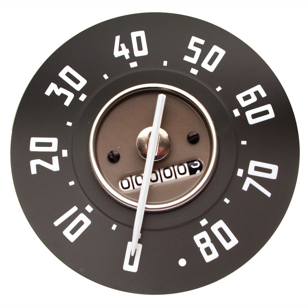 1947-1949 Chevy Pickup Truck Speedometer 0-80 MPH