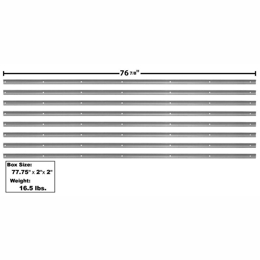 1947-1950 Chevy Pickup Truck Bed Strip Kit 8 Pc Painted