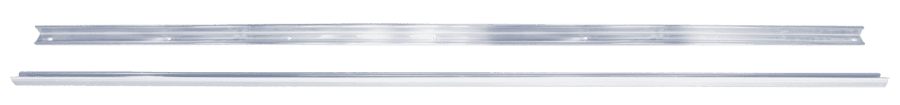 1947-1953 Chevy/GMC Pickup Long Bed Zinc Angle Strips