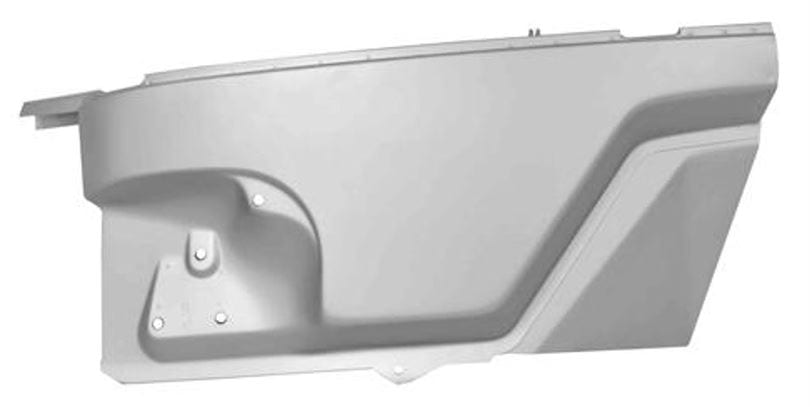 1948-1952 Ford Pickup Truck Cowl Side Panel Complete Driver Side (LH)-DYN3200A