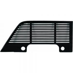 1951-1952 Ford Pickup Truck Dash Speaker Grille Painted Black