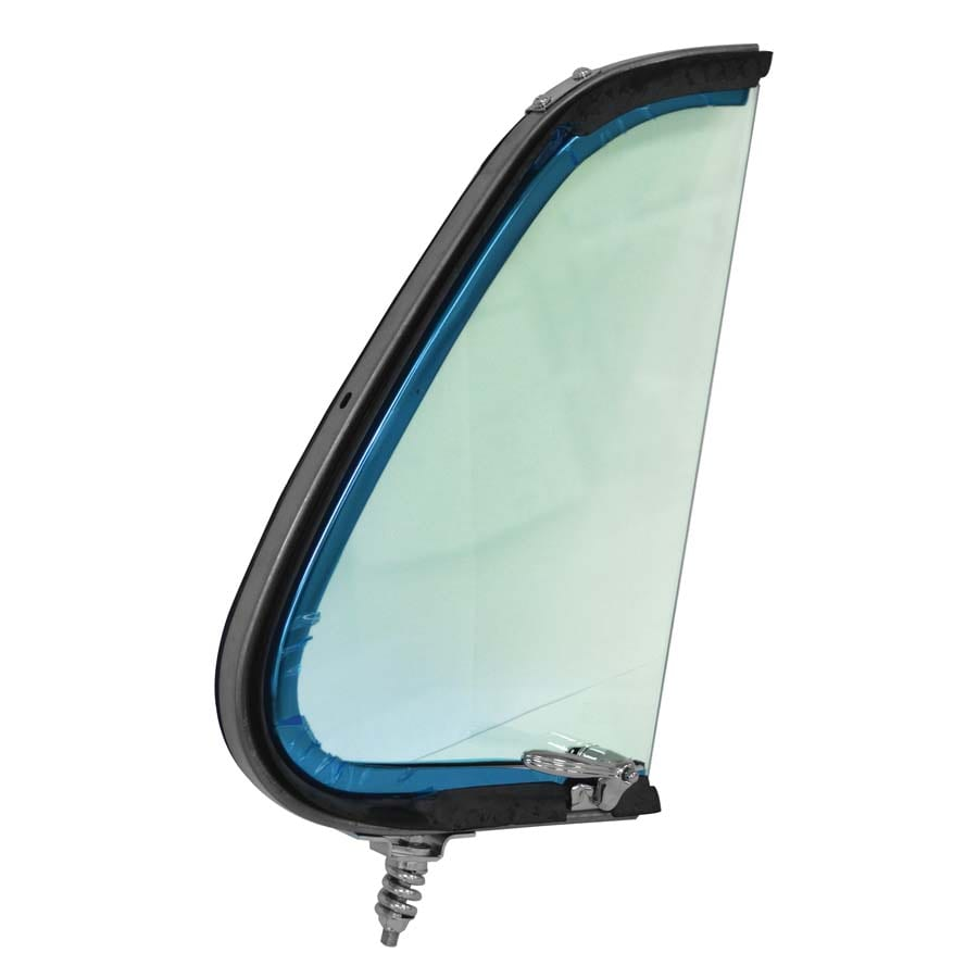 1951-1952 Ford Pickup Vent Window Assembly Passenger Side Tinted Glass