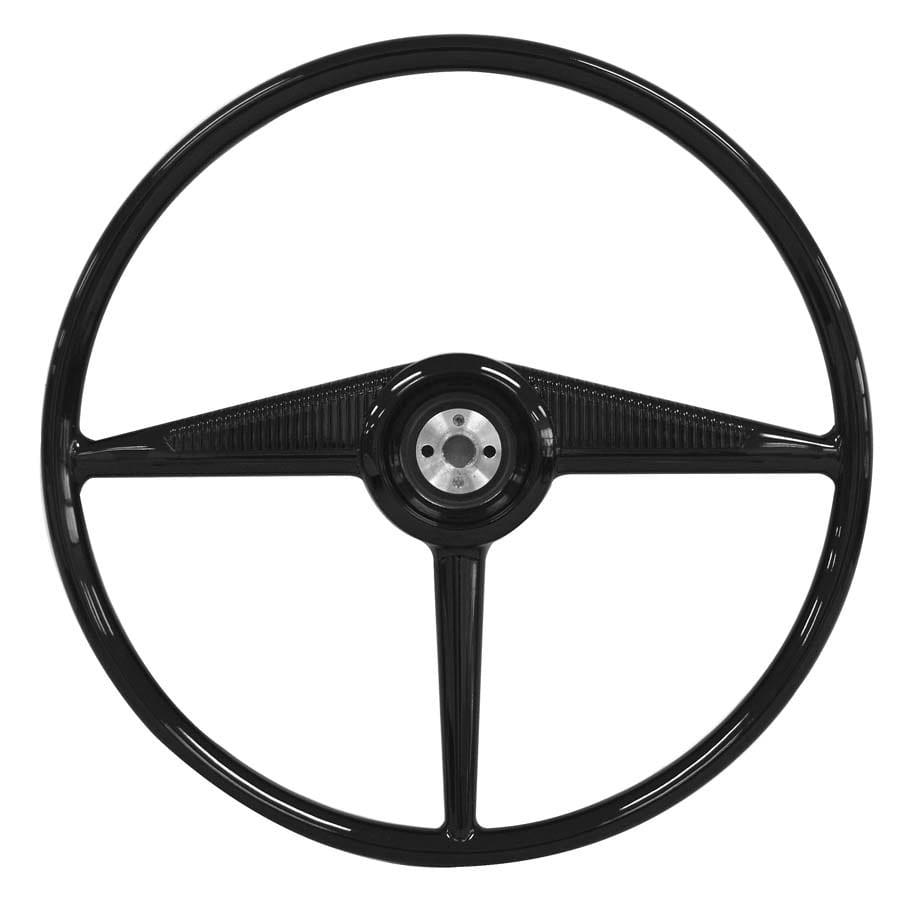 1953-1955 Ford Pickup Steering Wheel Black