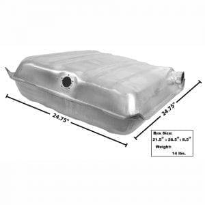 1955-1956 Chevy 150|210|Bel Air|Nomad Gas Tank  Square Corner