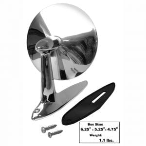 1955-1957 Chevy 150|210|Bel Air|Nomad Door Mirror Outer