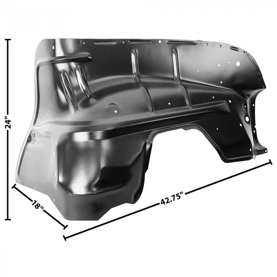 1955 Chevy 150|210|Bel Air|Nomad Inner Fender Driver Side (LH)