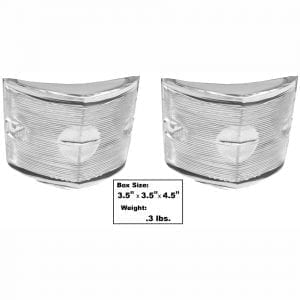 1956 Chevy 150|210|Bel Air|Nomad Backup Lamp Lens Pair