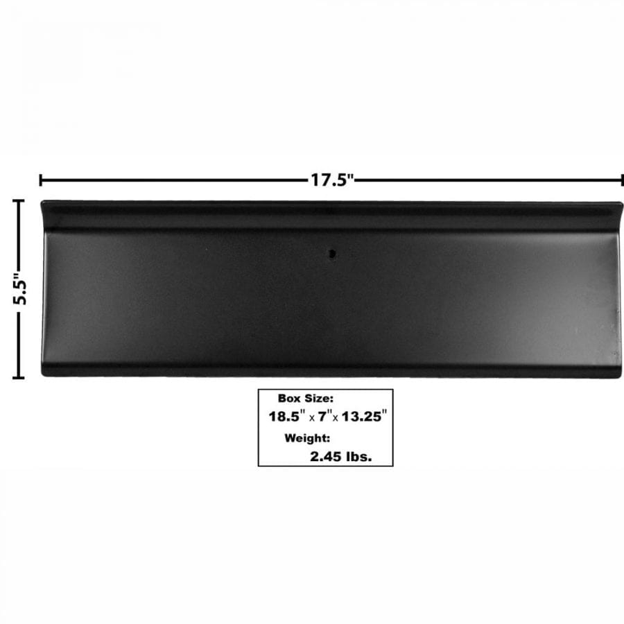 1956 Ford Pickup Truck Glove Box Door Painted Black