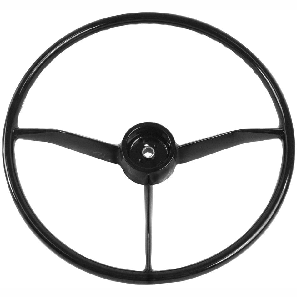 1957-1959 Chevy Pickup Truck Steering Wheel Black