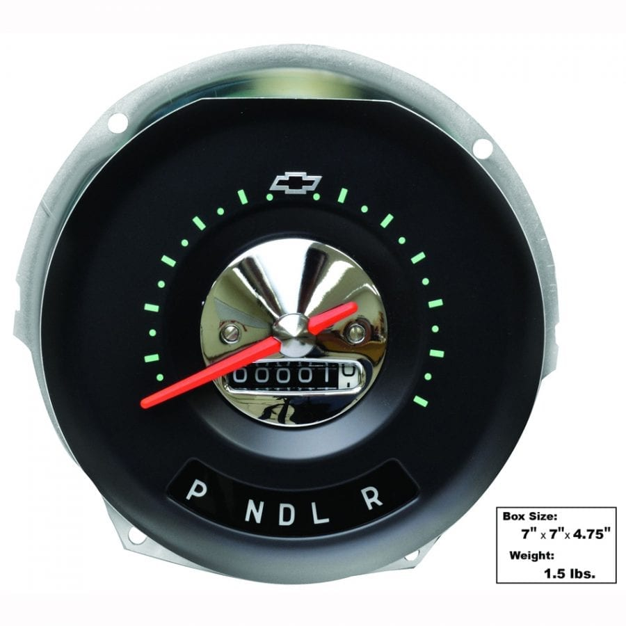 1957 Chevy 150|210|Bel Air|Nomad Speedometer A/T