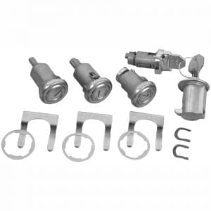 1958 Chevy Impala Lock Kit original with Long Cylinder