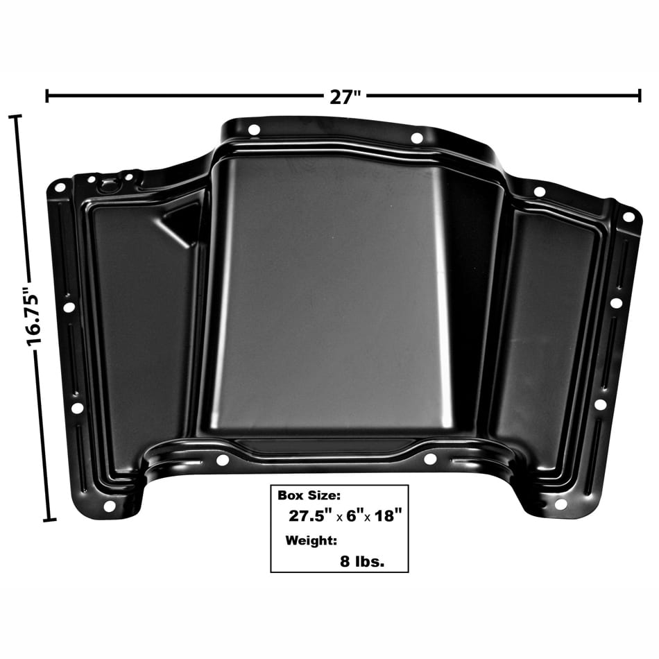 1960-1963 Chevy Pickup Truck Cab Floor Lower Hump Cover Panel