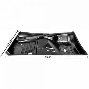 1961-1964 Chevy Impala Floor Pan Full Driver Side (LH) 2/4 Door