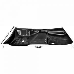1961-1964 Chevy Impala Floor Pan Full Passenger Side (RH) 2/4 Door
