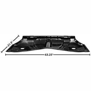 1961-1964 Chevy Impala Floor Pan Rear Seat