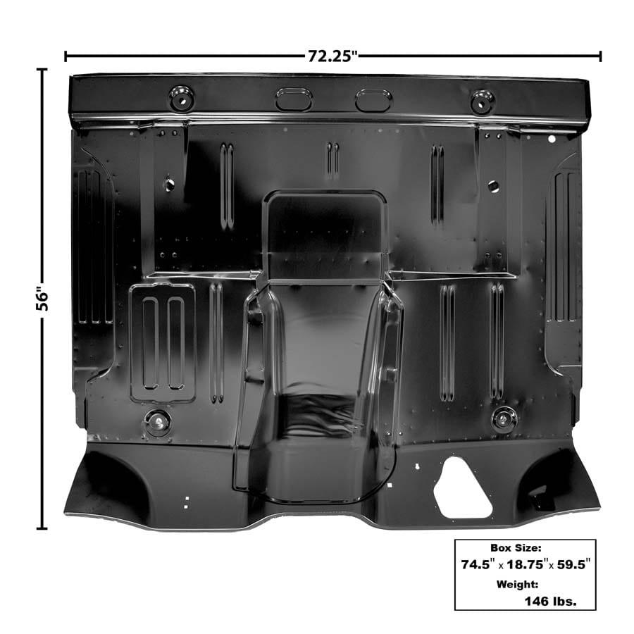 1961-1964 Ford Pickup Floor Pan Complete