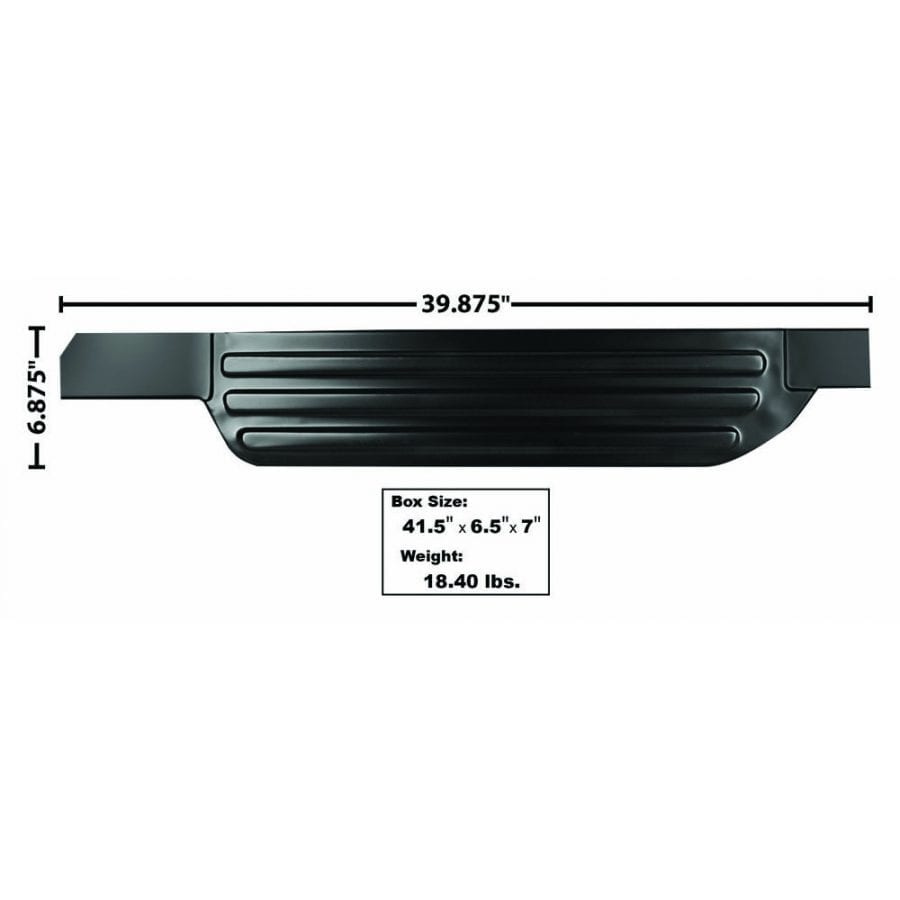 1961-1966 Ford Pickup Truck Door Step Plate Passenger Side (RH)