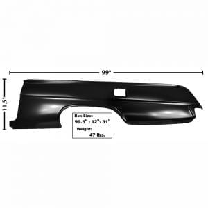 1962 Chevy Impala Quarter Panel Full Left