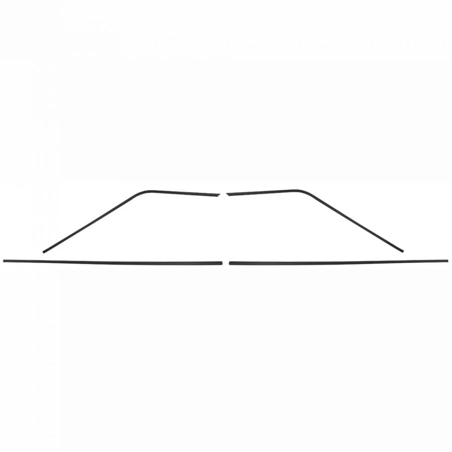 1964-1965 Chevy Chevelle Headliner Side Molding 4Pcs