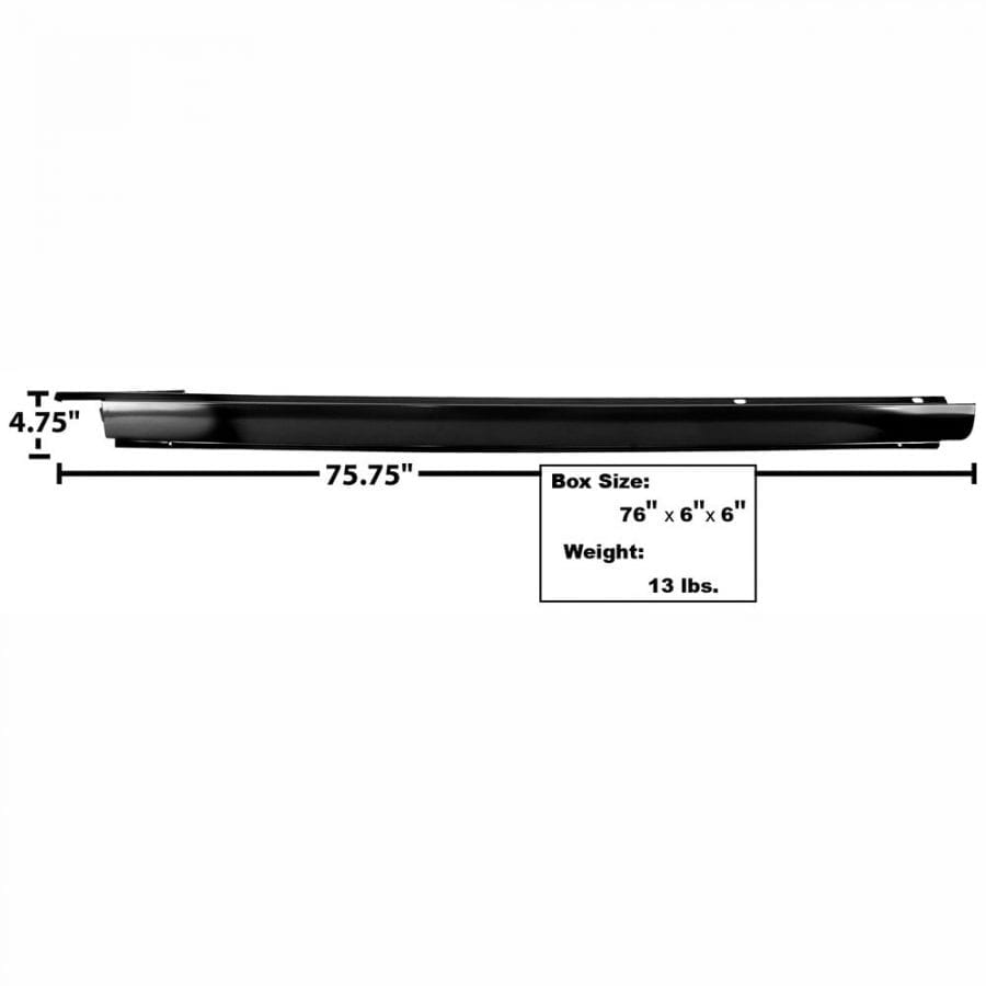 1964-1967 Chevy Chevelle Rocker Panel Outer Driver Side (LH)