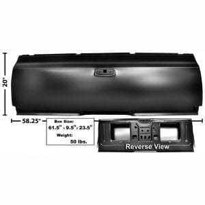 1964-1967 Chevy El Camino Tailgate Shell Complete
