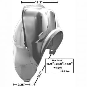 1964-1967 Pontiac GTO Wheelhouse Complete Passenger Side (RH)