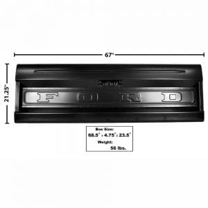1964-1972 Ford Pickup Truck Tailgate Styleside with Ford