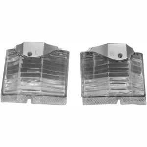 1964 Chevy El Camino Backup Lamp Lens Pair