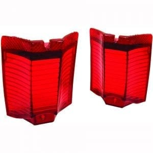 1964 Chevy El Camino Tail Lamp Lens Pair