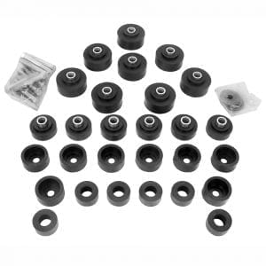 1965-1966 Chevy Impala Bushing Body Kit with Bolts Convertible