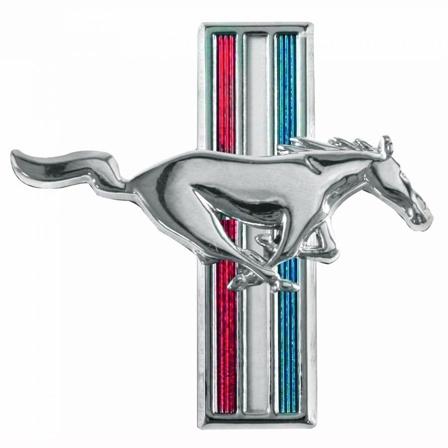 1965-1966 Ford Mustang Emblem Running Horse Passenger Side (RH)