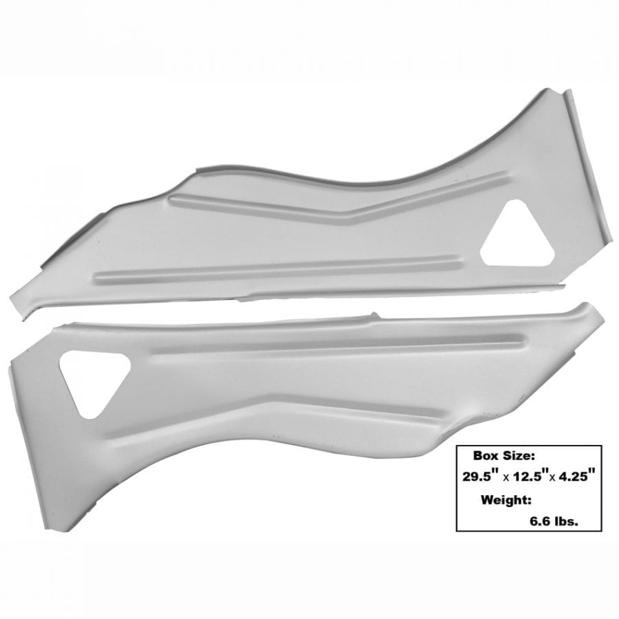 1965-1966 Ford Mustang Inner Quarter Structure Brace
