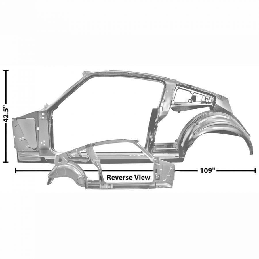1965-1966 Ford Mustang Quarter/Door Frame Assembly Driver Side (LH) Fastback