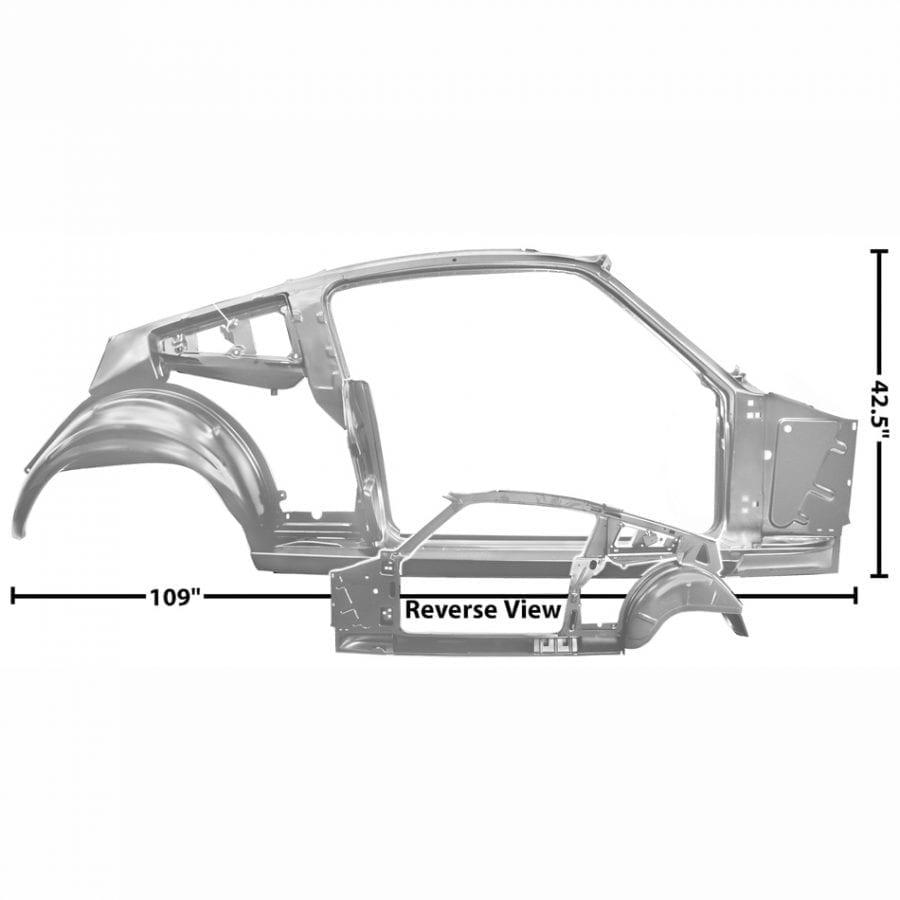 1965-1966 Ford Mustang Quarter/Door Frame Assembly Passenger Side (RH) Fastback