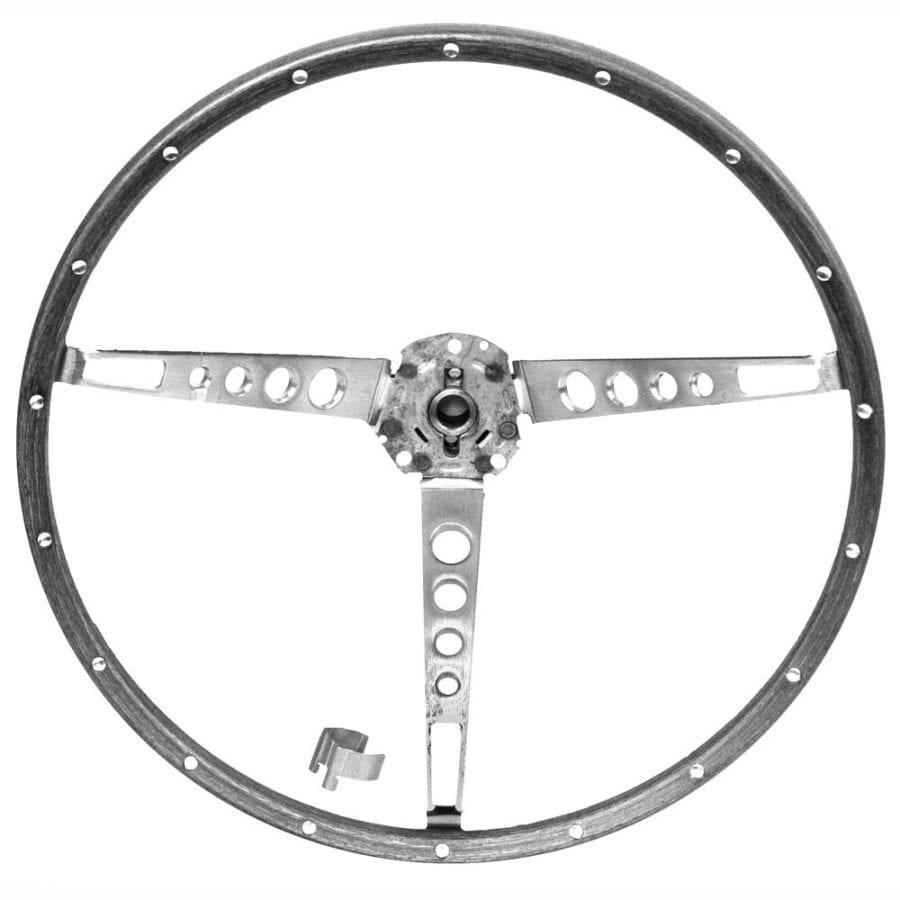 1965-1966 Ford Mustang Steering Wheel Deluxe