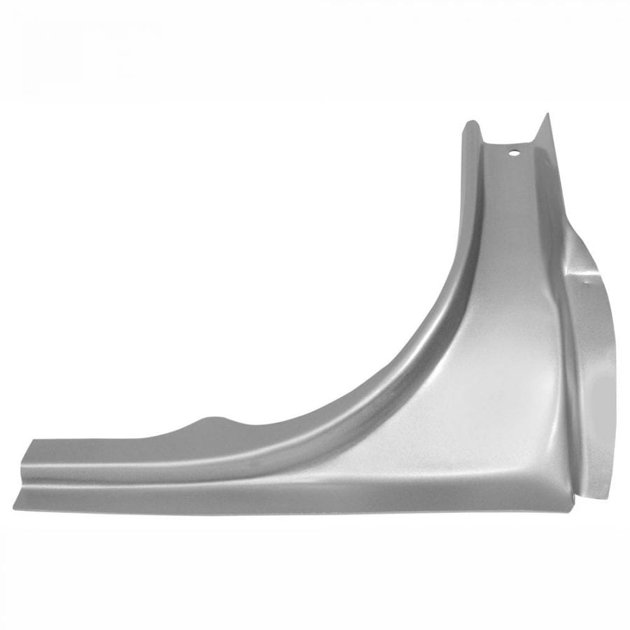 1965-1966 Ford Mustang Tail Panel Corner Passenger Side (RH) Coupe or Convertible