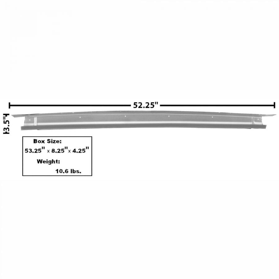 1965-1966 Ford Mustang Trunk Divider/Bridge Support