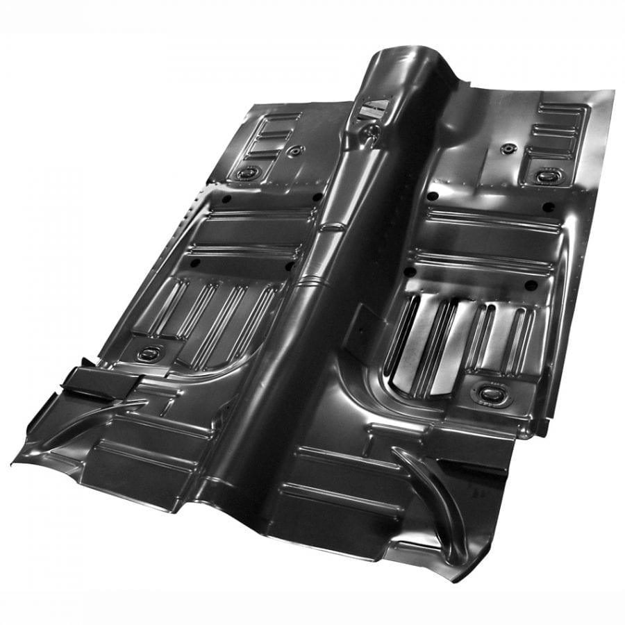 1965-1968 Ford Mustang Floor Pan Complete Convertible
