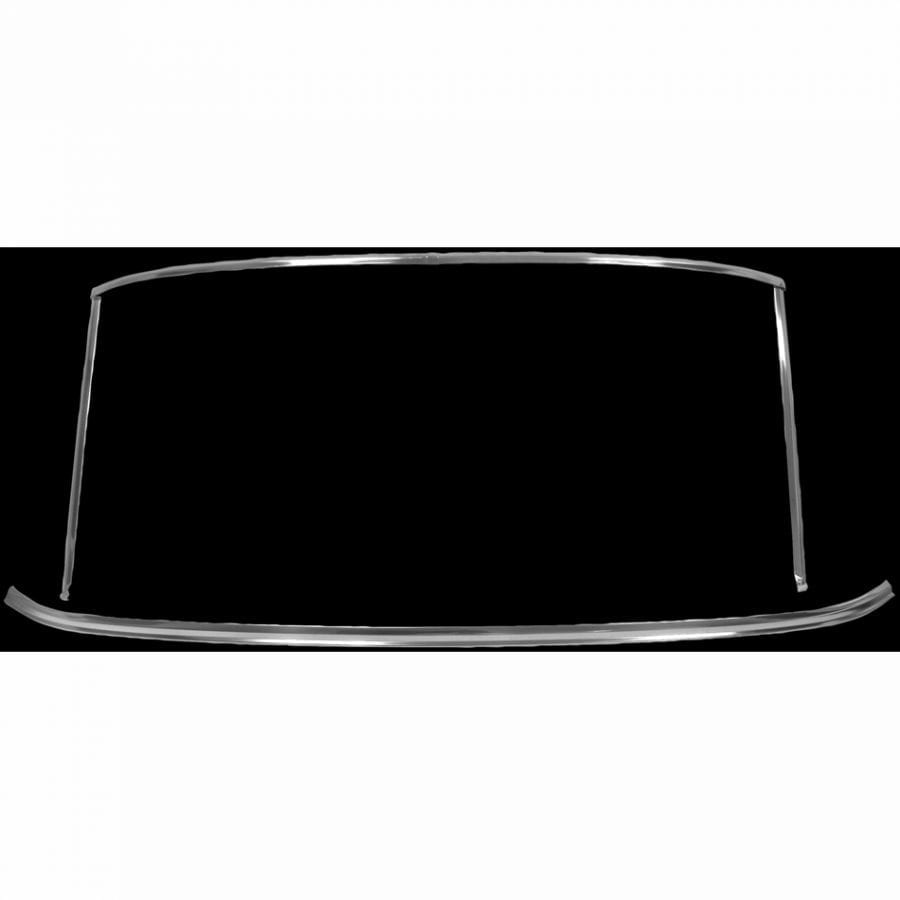 1965-1968 Ford Mustang Windshield Molding Set Coupe or Fastback
