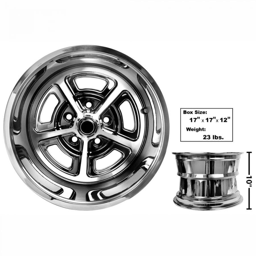 1965-1973 Ford Mustang Magnum Alloy Wheel 15X10 Coated
