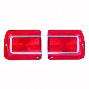 1965 Chevy Chevelle Tail Lamp Lens Pair