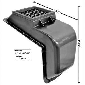 1966-1977 Ford Bronco Heater Intake Plenum