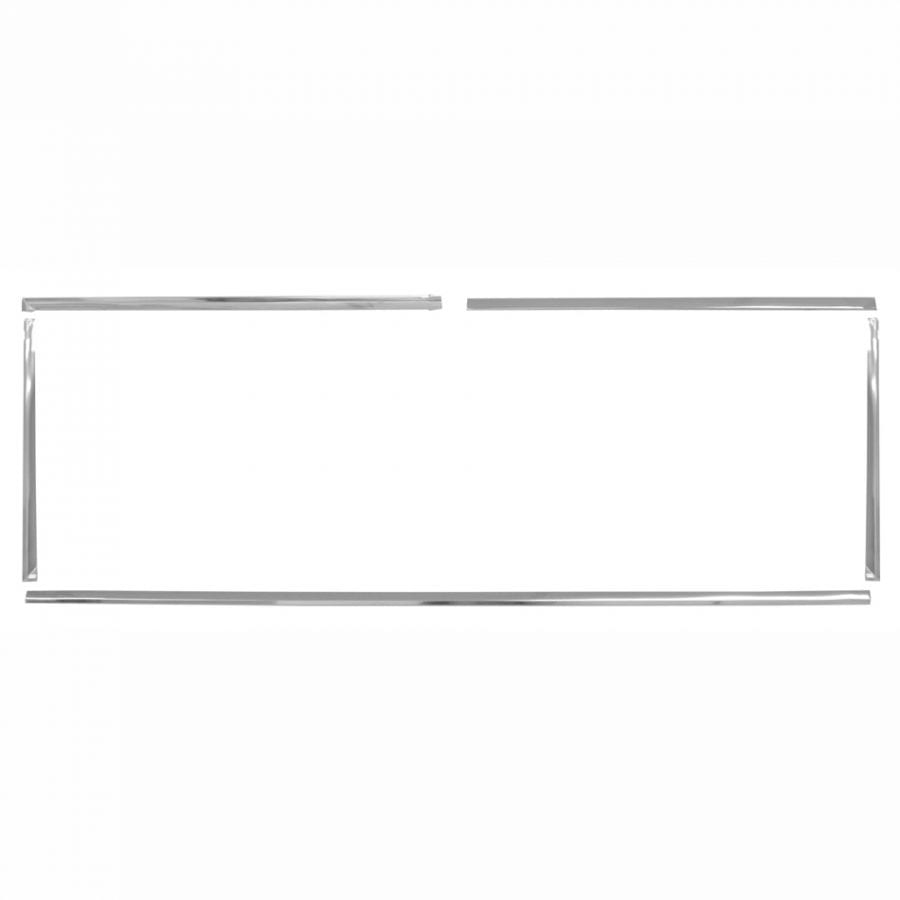 1966-1977 Ford Bronco Rear Window Molding Kit 5 Pieces