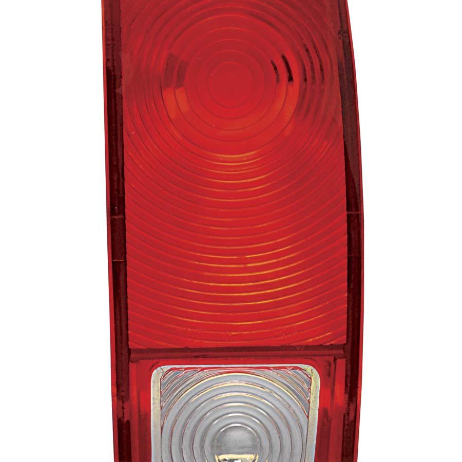 1966-1977 Ford Bronco Tail Lamp Lens Passenger Side