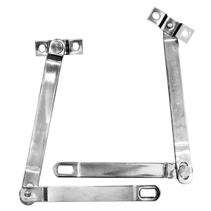 1966-1977 Ford Bronco Tailgate Supports Stainless Pair