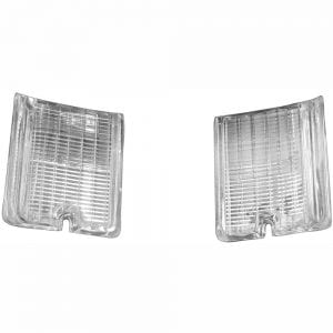 1966 Chevy El Camino Backup Lamp Lens Pair